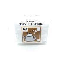 64 filtres à thé jetables