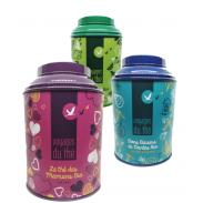 boites a thé personnalisées 100g voyages du thé